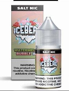 Líquido Nic Salt Iceberg Vapors - Watermelon Bubble Ice