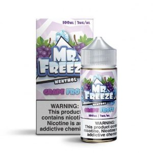 Líquido Mr. Freeze - Grape Frost