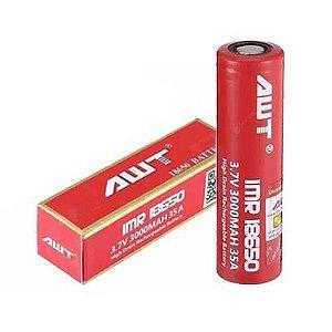Bateria 18650 3.7V 3000mAh 35A - AWT