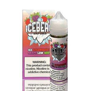 Líquido Iceberg Vapors -  Ice Strawberry Grape  Low Mint