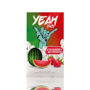 Yeah Pods Strawberry Watermelon - Compatíveis com JUUL - Yeah