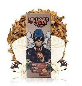 Líquido Yoop Vapor Salt - Mr. Yoop - Tobacco Vanilla