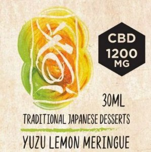 Líquido CBD Element - Yuzu Lemon Meringue - Traditional Japanese Desserts