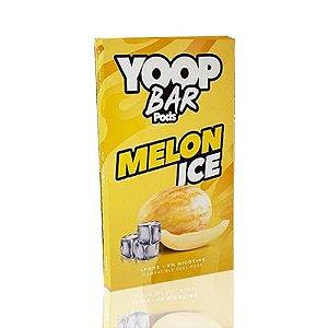 Yoop Bar Melon Ice - Compatíveis com Juul - Yoop Vapor