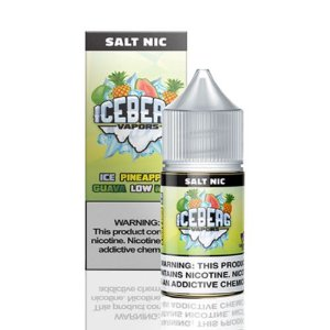 Líquido Iceberg Vapors Salt -  Ice Pineapple Guava Low Mint