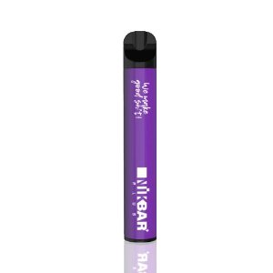 Pod Descartável NikBar Plus - 600 Puffs - Grape Ice