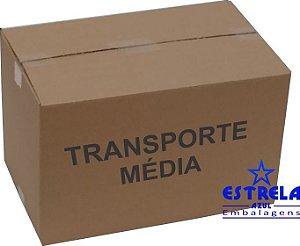 Caixa de Transporte Média Med. 48x30x30cm - Ref.21