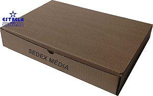 Caixa e-commerce Sedex Média Med. 35x26x6cm