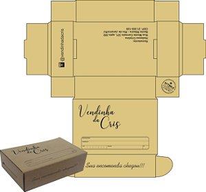 Caixa e-commerce Sedex n°0 Med.17x11x4,5cm