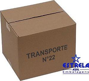 Caixa de Transporte n°22 Med. 27x25x23cm - Ref.22