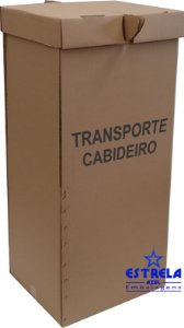Caixa de Cabideiro Med. 55x47x120cm