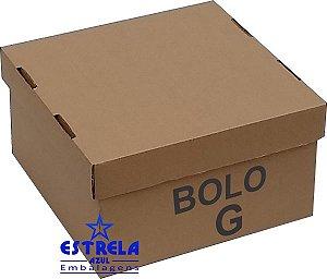 Caixa de Bolo G. 42x42x20cm