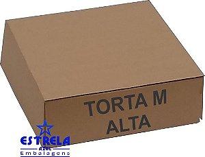 Caixa de Torta M alta. 35x35x13cm - Ref.65