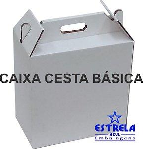 Caixa Cesta Básica 36x20,5x37cm Pacote com 25 unidades