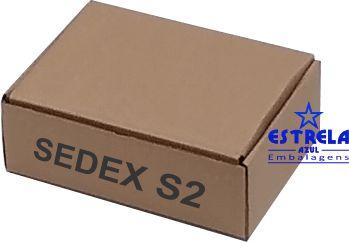 Caixa e-commerce Sedex s2 Med. 23x16x8cm - Ref.49