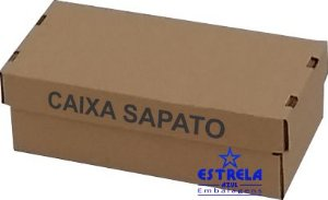 Caixa e-commerce Sedex Sapato Med. 30x15x10cm