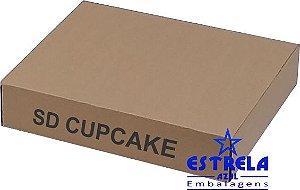Caixa e-commerce Sedex CupCake Med. 43,5x34,5x8,5cm - Ref.12