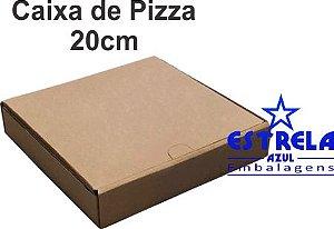 Pizza Parda 20cm Quadrada 21x21x4,5cm - Ref.67