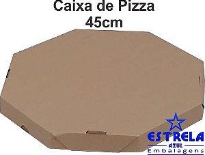 Pizza Parda 45cm Octagonal Med. 45x45x4,5cm