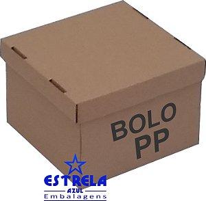 Caixa de Bolo PP. 26x26x17,5cm - Ref.15