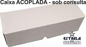 Caixa de Micro ondulado acoplacado com Cartão Duplex