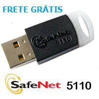Token Safenet 5110 para certificado digital e-CPF, e-CNPJ, NFe – 10 Unidades