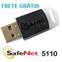 Token Safenet 5110 para certificado digital e-CPF, e-CNPJ, NFe – 50 Unidades