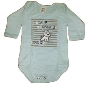 Body Bebe Masculino Cachorrinho Doctor Baby Kit com 3 unidades