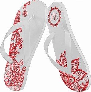 Chinelos Personalizados em Silk ou Sublimação - Kit 50 pares - Consultar preços