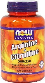 5d6fde11e Produtos relacionados. Now Foods Arginina e citrulina 500 250 mg 120 Caps