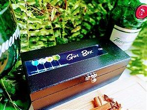 Kit Gin especiarias Preta Metal