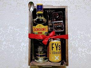Caixa Gin Tônica Rústica