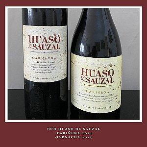 DUO Huaso de Sauzal - Cariñena 2014 e Garnacha 2013