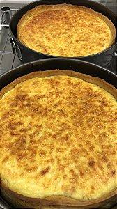 Quiche 4 queijos - Somente retirada