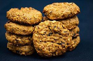 Cookie integral de castanha do pará, passas e aveia | 3 unidades