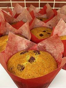 Muffin de fubá e goiabada | 3 unidades