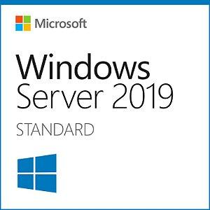 Licença Microsoft Windows Server 2019 STD 16 CORE FPP PN AAA-90059