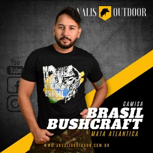 Camisa Brasil Bushcraft - Mata Atlântica
