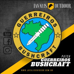 Patch Bordado - Guerreiros Bushcraft