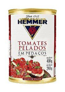 TOMATE PELADO PEDAÇO HEMMER 240GR