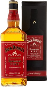 WHISKY JACK DANIELS TENESSE FIRE 1L