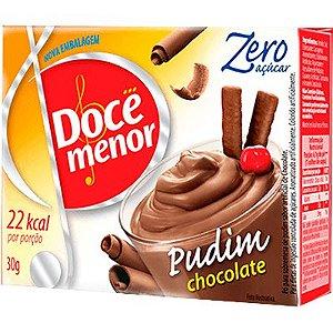 PÓ PARA PUDIM ZERO CHOCOLATE DOCE MENOR 30G