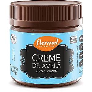 FLORMEL CREME DE AVELÃ EXTRA CACAU ZERO 150G