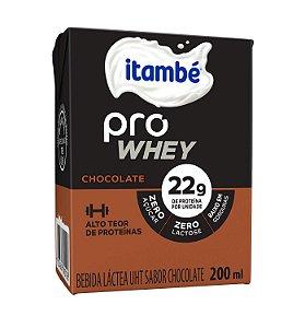 BEBIDA LACTEA CHOCOLATE PRO WHEY ITAMBÉ 200ML