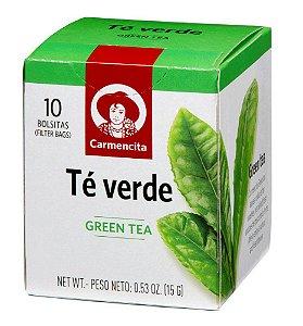 CHÁ ESPANHOL CARMENCITA VERDE 15G