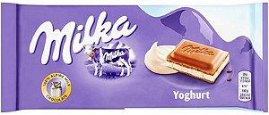 CHOCOLATE RECHEADO YOGHURT MILKA 100G