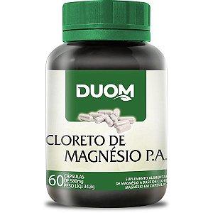 CAPSULA CLORETO MAGÉNSIO PA DUOM 60C 500MG