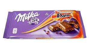 CHOCOLATE MILKA & DAIM 100G