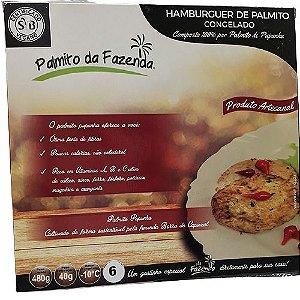 HAMBURGUER DE PALMITO CONGELADO PALMITO DA FAZENDA 480G