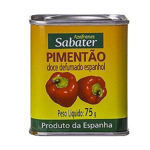 TEMPERO SABATER PIMENTÃO DEFUMADO 75G